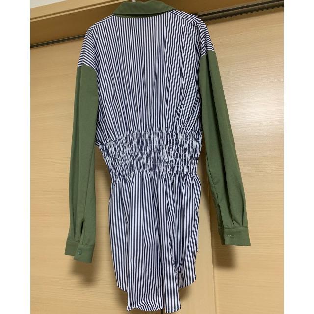 ZARA(ザラ)のZARA シャーリングシャツ レディースのトップス(シャツ/ブラウス(長袖/七分))の商品写真