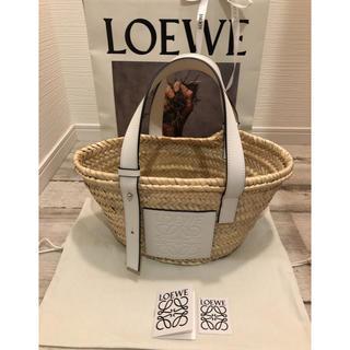 LOEWE - LOEWE ロエベ バスケット かご スモール ホワイト 完売品