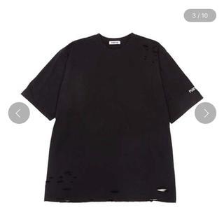 プニュズ(PUNYUS)のPUNYUS クラッシュ Tシャツ 半袖(Tシャツ(半袖/袖なし))