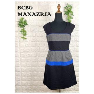 ビーシービージーマックスアズリア(BCBGMAXAZRIA)の018 ビーシービージーマックスアズリア ワンピース 大きめ M スポーツ 美品(ミニワンピース)
