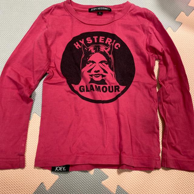 JOEY HYSTERIC(ジョーイヒステリック)のジョーイヒステリック ロンT  Sサイズ キッズ/ベビー/マタニティのキッズ服女の子用(90cm~)(Tシャツ/カットソー)の商品写真