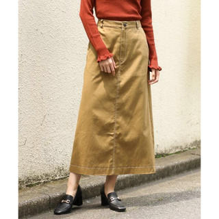 ローリーズファーム(LOWRYS FARM)の美品⭐︎LOWLYS FARMハイショクステッチタイトスカート(ロングスカート)