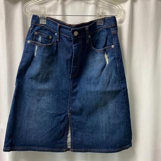 ギャップ(GAP)のGAP デニムスカート(ひざ丈スカート)