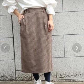 ローリーズファーム(LOWRYS FARM)のKR キモウチェックタイトスカート(ロングスカート)