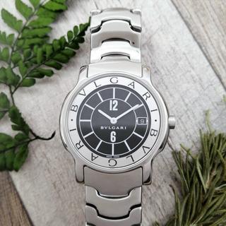 BVLGARI - 極美品✨ブルガリ ソロテンポ✨動作保証付 点検済 メンズ レディース 腕時計