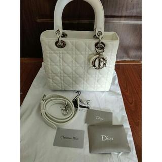 ディオール(Dior)のクリスチャンディオール レディディオール 2Way バッグ(ハンドバッグ)
