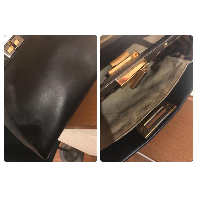 FENDI(フェンディ)のFENDI フェンディ  ピーカブー レギュラー レオパード  レディースのバッグ(ハンドバッグ)の商品写真