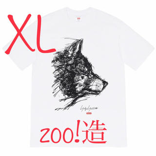 シュプリーム(Supreme)のsupreme×Yohji Yamamoto scribble wolf tee(Tシャツ/カットソー(半袖/袖なし))