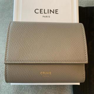 セリーヌ(celine)の【2、3回のみ利用】セリーヌ トリフォールド三つ折り財布(財布)