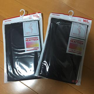 ユニクロ(UNIQLO)のユニクロ【新品】ヒートテック タイツ M/L 2点セット(タイツ/ストッキング)