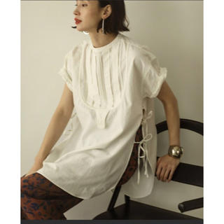 TODAYFUL - TODAYFUL ハーフスリーブドレスシャツ 白