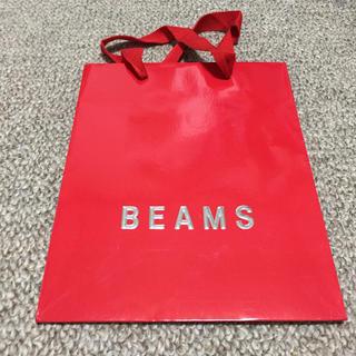 ビームス(BEAMS)のBEAMS クリスマス限定 ショッピングバッグ(ショップ袋)