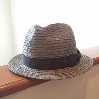 ケービーエフ(KBF)の新品 KBF 麦わら帽子(麦わら帽子/ストローハット)