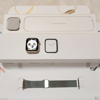アップル(Apple)のApple Watch Series 4 Stainless Steel(腕時計)