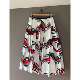 Drawer - 美品 blaminkブラミンク シルクプリーツスカート