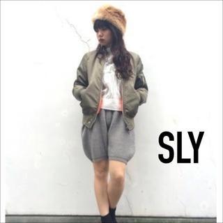 SLY - SLY リブ ミドルゲージ バミューダ パンツ♡マウジー ロデオクラウンズ ザラ