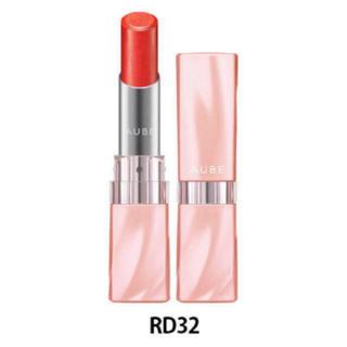 AUBE couture - AUBE 口紅 なめらか質感ひと塗りルージュ RD32 新品未使用