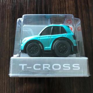 フォルクスワーゲン(Volkswagen)のT-Cross チョロQ フォルクスワーゲン 非売品 緑(ミニカー)