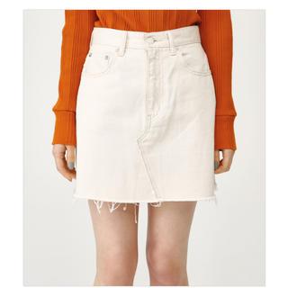 スライ(SLY)のSLY ホワイトデニムスカート (ミニスカート)