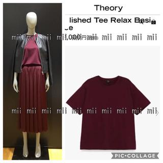 セオリー(theory)の✤2019FW セオリー Theory クルーネックカットソー✤(Tシャツ(半袖/袖なし))