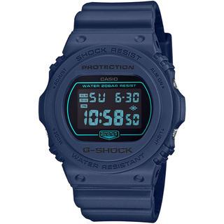 ジーショック(G-SHOCK)のカシオ G-SHOCK スペシャルカラー 腕時計 DW-5700BBM-2JF紺(腕時計(デジタル))