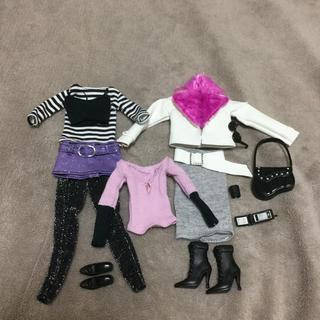 バービー(Barbie)の1/6ドール衣装【F】人形 服 バービー ジェニー(ぬいぐるみ/人形)