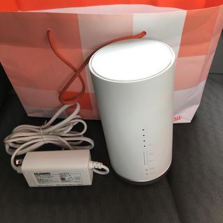 エーユー(au)のau Speed Wi-Fi HOME L01s本体(その他)