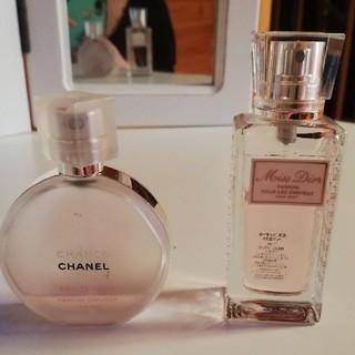 Dior - CHANEL チャンスオータンドゥル ミスディオール30ml ヘアミスト セット
