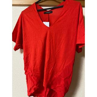 ローズバッド(ROSE BUD)の新品タグ付 ROSE BUD  Tシャツ(Tシャツ(半袖/袖なし))