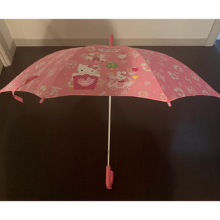 サンリオ(サンリオ)のサンリオ ハローキティ 雨傘 キッズ ピンク(傘)