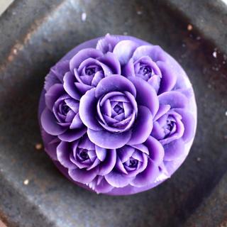 ソープカービング 紫のバラ🌹(その他)