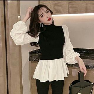 ZARA - 人気のボリュームスリーブシャツ フェミニンスタイル シャツ ブラウス 即日発送