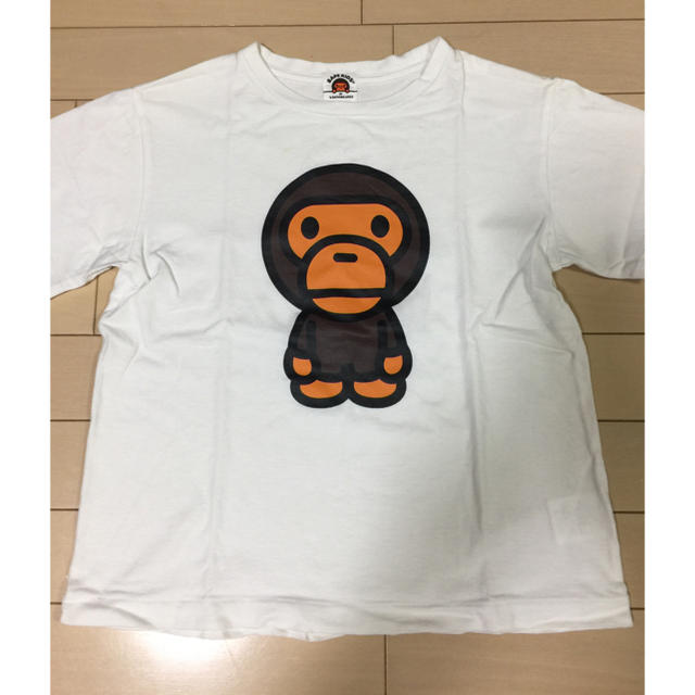 A BATHING APE(アベイシングエイプ)のTシャツ キッズ/ベビー/マタニティのキッズ服男の子用(90cm~)(Tシャツ/カットソー)の商品写真