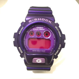 ジーショック(G-SHOCK)のCASIO G-SHOCK パープル クレイジーカラーズ DW-6900 紫(腕時計(デジタル))