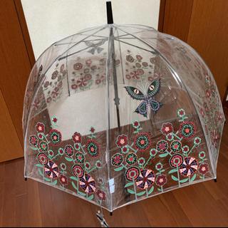 アナスイ(ANNA SUI)のANNA SUI アナスイ レザー ビッグロゴ 蝶々のチャーム付き トートバッグ(トートバッグ)