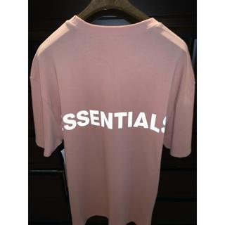 FEAR OF GOD - 新品 FOG  Essentials Boxy  Tシャツ  ピンク  Mサイズ