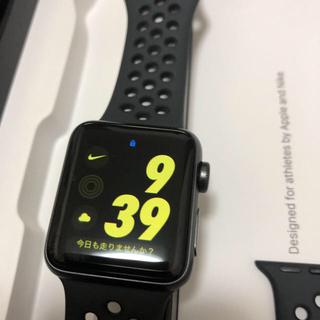 Apple Watch - Apple Watch  series3 NIKE GPS 38mm