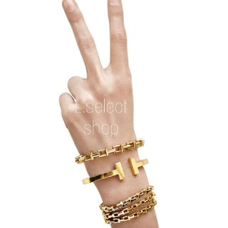 Ron Herman - 348.T chain bracelet【gold】