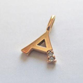 テイクアップ(TAKE-UP)の週末限定 ネックレス トップ ダイヤモンド テイクアップ K10 チャーム(ネックレス)