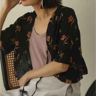 トゥデイフル(TODAYFUL)のGeorgette Flower Cardigan  TODAYFUL(カーディガン)