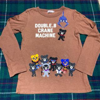 DOUBLE.B - ミキハウス ダブルB クレーンゲーム Tシャツ