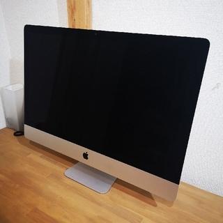 Mac (Apple) - imac 27inch 5K 2017年モデル メモリ40GBに増設済み