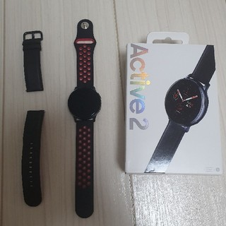 Galaxy - galaxy watch active 2 stainless steel 40