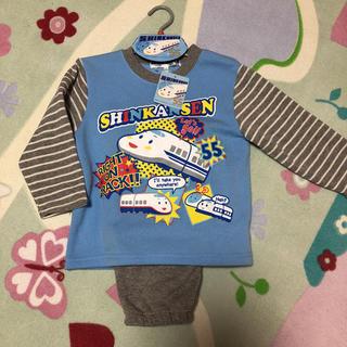 サンリオ(サンリオ)の新品 サンリオ  シンカンセン 男の子  パジャマ  110 ルームウェア 男児(パジャマ)