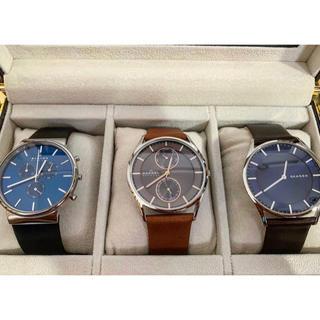 スカーゲン(SKAGEN)のSKAGEN 腕時計3種セット(時計ケース付)(腕時計)