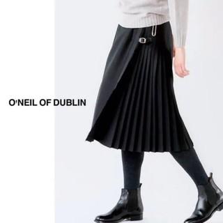 IENA - oneil of dublinプリーツロングスカート