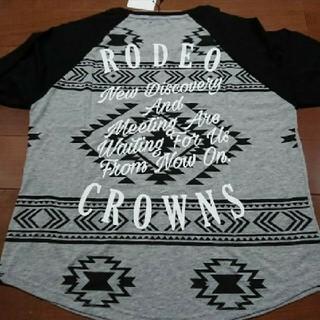 RODEO CROWNS WIDE BOWL - 新品 ロデオラグランTシャツ