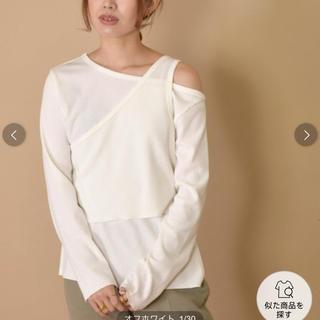 ダブルクローゼット(w closet)のレイヤードTシャツ(Tシャツ(長袖/七分))