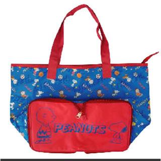 ピーナッツ(PEANUTS)のスヌーピー 保冷折り畳みトートバッグ エコバッグ(エコバッグ)