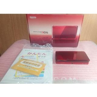 ニンテンドー3DS - ニンテンドー 3DS 本体 フレアレッド